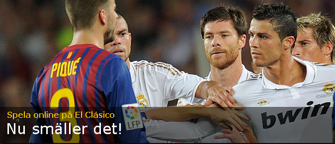 Live odds - Real Madrid Barcelona