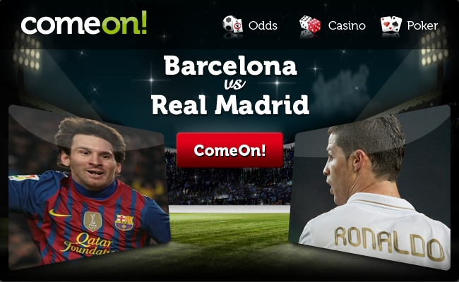 barcelona v real madrid odds